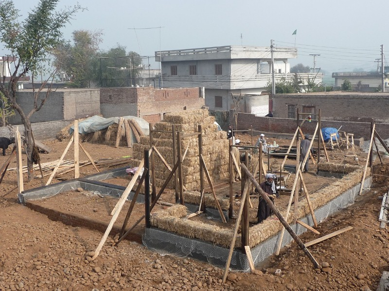 Manzoor Hussain's House Construction