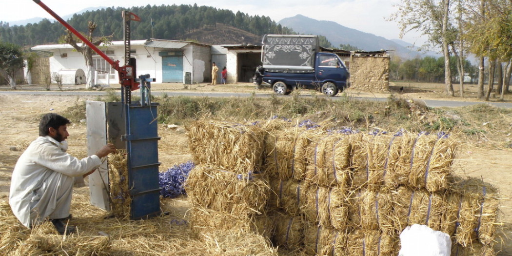 Straw Bale Fabrication