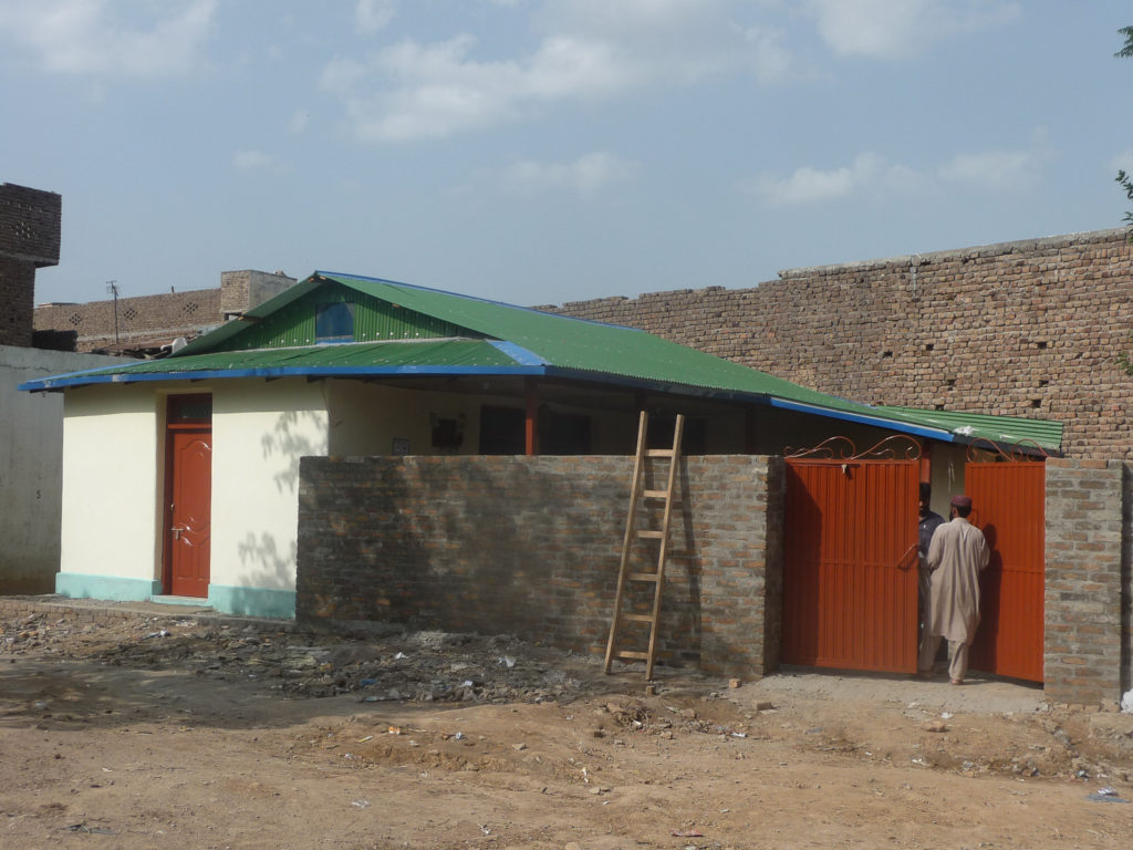 Saleem house final touches doors and gate