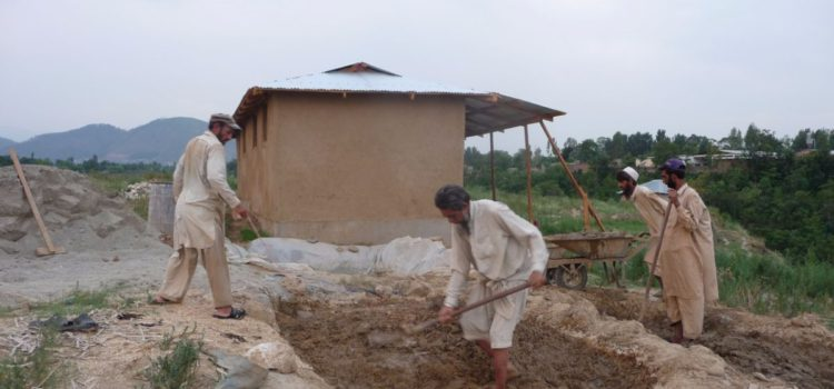 10-House Project for Flood Victims in Mansehra – 2012
