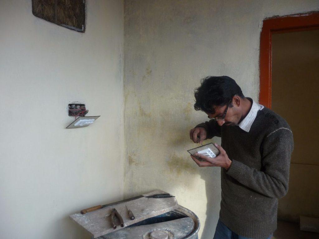 Saadia Noor's House - electrical work